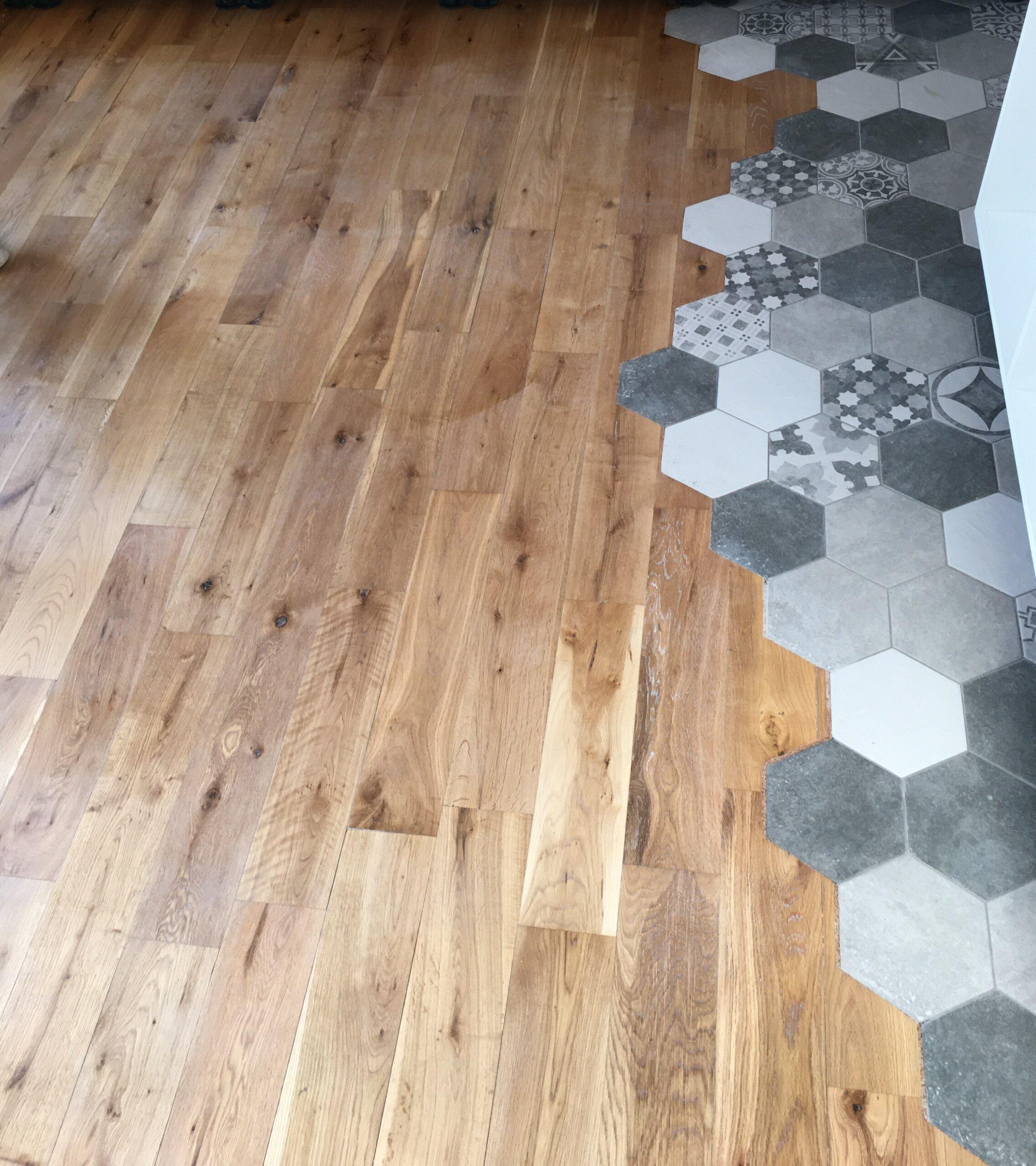 Vila Smíchov - repas masivní dřevěné podlahy 3