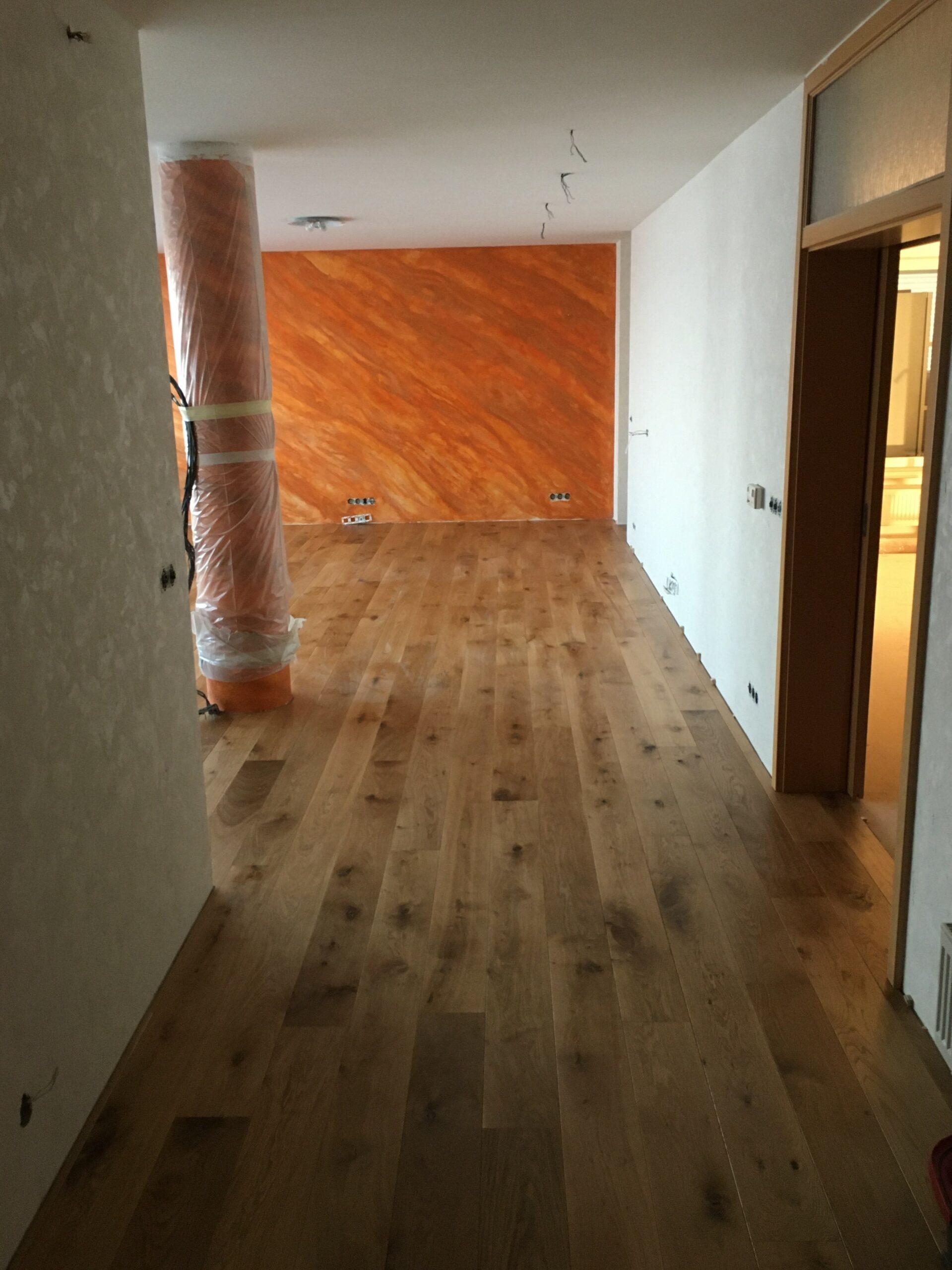Rezidence Stodůlky - 3-vrstvá dřevěná podlaha