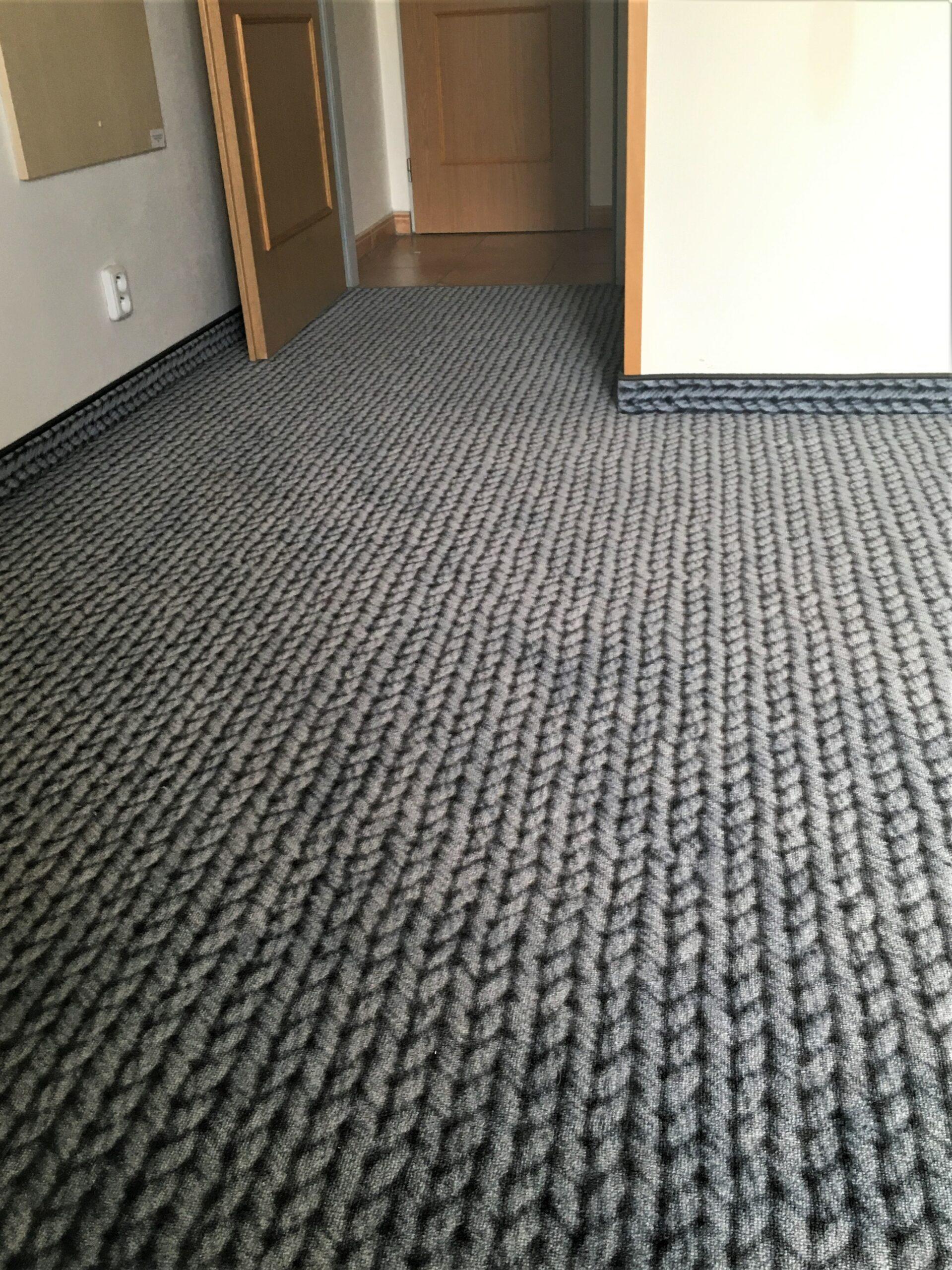 Hotel Lipno - koberce s individuálním designem a vinylová podlaha 3